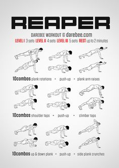 Reaper Workout