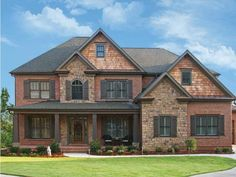 Shingle House Plan with 3195 Square Feet and 5 Bedrooms from Dream Home Source |
