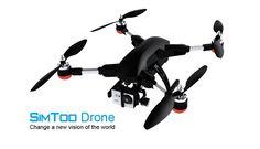Mola: SIMTOO Drone, un quadcopter con función de seguimiento automático