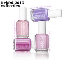 Essie Wedding Collection 2013