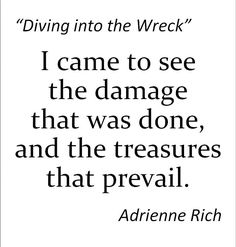 Adrienne Rich -- I miss her voice in the world, although the words she left us are enough to change anyone's life.  Link goes to her pages at poets.org, including recording of some poems. More like her at https://www.pinterest.com/yrauntruth/grow-up-age-croning/