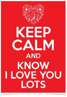 Poster Frases Keep Calm Lots - Comprar em Decor10