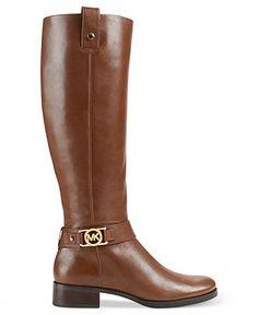 MICHAEL Michael Kors Boots, Charm Riding Boots - Boots - Shoes - Macy's