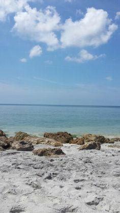 Caspersan Beach Venice Florida - where to find fossilized shark teeth