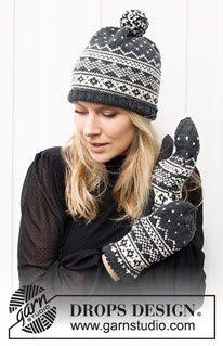 Intarsia Patterns, Knitting Patterns Free, Free Knitting, Crochet Patterns, Drops Design, Magazine Drops, Ravelry, Mittens Pattern, Crochet Diagram