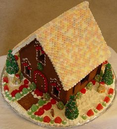 Can't wait to make ginger bread houses this year!