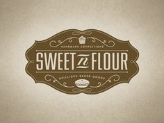 HALFTONE DEF STUDIOS – 100% Hand Tuned Design & Prints, The Dirty South – Jacksonville, Florida. » Blog Archive » SWEET N FLOUR – Logo & Stamp Packaging