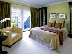 20 Encantadores Dormitorios Color Verde