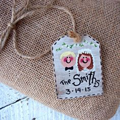 Personalized easter basket tag girls custom easter basket label personalized wedding gift tag rustic wedding hand by countrytags negle Image collections