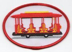 Daniel Tiger Trolley Patch - Neighborhood Archive $2