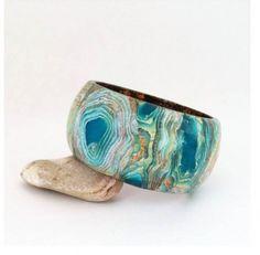 Deep Mokume Shine   The Polymer Arts Blog   Bloglovin'