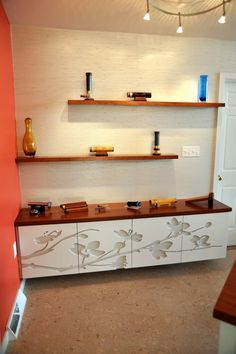 Floating Buffet and Shelves #cultivateit