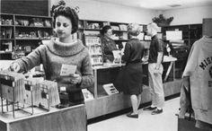 University of Central Missouri bookstore circa 1963.