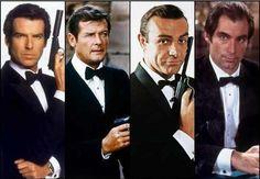 James Bond (Agent 007) –główna rola: Sean Connery – 1962-1967, 1971 (6 filmów)…