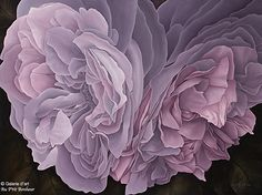 Mickie Acierno, 'Lost Love', x Linda Thompson, Art Gallery, Galerie D'art, Artwork, Flowers, Plants, Art Floral, Life Hacks, Lost