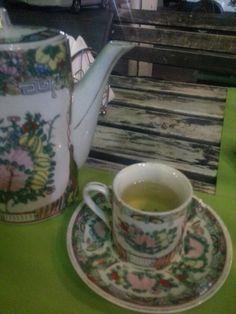 Green tea at China Kitchen in Kuwait