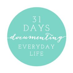 31 days Documenting Your Everyday Life by Salt Lake City Utah photographer Carrie Owens