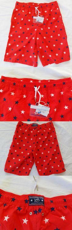 d3dcbe6fce Swimwear 51919: Southern Tide Boys Show Your Stripes Swim Trunks Board  Shorts L 12-14 Nwt -> BUY IT NOW ONLY: $31.34 on eBay!