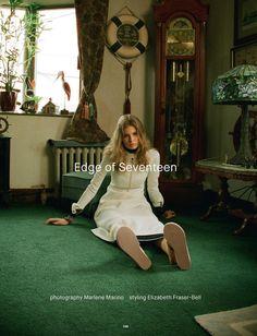 Alexandra Elizabeth Ljadov in 'Edge of Seventeen' for Dazed Summer 2015