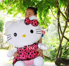 Birthday Gift Idea | 2012 new style hello kitty toys, plush toys for girl friend and kids ...