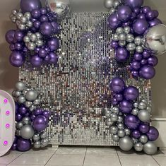 Balloon Backdrop, Balloon Decorations Party, Balloon Wall, Balloon Garland, Birthday Party Decorations, Balloons, Disco Theme, Gender Reveal Decorations, 18th Birthday Party
