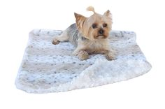 The Dog Squad Minkie Binkie Blanket Frosted Snow Leopard, 20 by 30 Square Feet >>> New and awesome dog product awaits you, Read it now  : Pet dog bedding