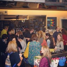 A packed shop at Ladies Night last weekend  Thank you for celebrating women and cycling with us  @rideepicenter ❤️