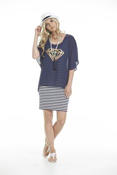 Charlo Rough Diamond 2pc Dress Rough Diamond, Shirt Dress, T Shirt, Pink Dress, Cupboard, Pretty, Collection, Dresses, Design