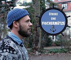 Free pattern (german) + Fischermütze kostenlose Strickanleitung bei schoenstricken.de