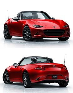 2016 Mazda MX-5 Miata. Low, light, and easy to modify, the Mazda Miata has long been a favorite of weekend track-day racers. The 2016 MX-5 Miata was just unveiled and though performance specs have not been released yet, this new model is 220-lbs. lighter than the last model and with Mazda's Kodo Design, it is visibly lower and wider, as well.