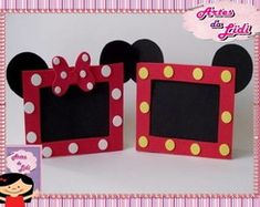 Porta retrato mickey/minnie Mais