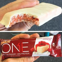 Ohyeahnutr White Chocolate Raspberry One Protein Bar Yes Another Post Workout Review