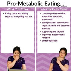 When you come across pro-metabolic eating on social media or forums, it seems like it's all about devouring tons of sugar. . Yes, pro-metabolic eating does involve eating carbs because sugar is our body's primary fuel source and we want to prevent the body from breaking down fat, muscle, organs etc to make sugar and energy. There are further important areas to look at when looking to follow a pro-metabolic diet.