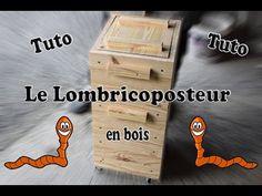 Fabriquation d'un Lombricomposteur en bois - YouTube