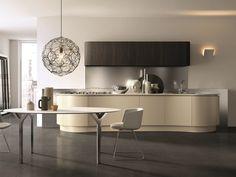 DOMINA Cuisine linéaire by Aster Cucine design Lorenzo Granocchia Aster, Interior Design Kitchen, Modern Interior, Cuisines Design, Ikea, Interiores Design, Kitchen Furniture, Dining Bench, House Design