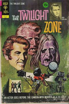 The Twilight Zone Comic #44 Publisher: Gold Key Comics Date: July 1972