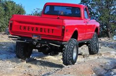 Nothing beats a chevy 67 72 Chevy Truck, Lifted Chevy Trucks, Classic Chevy Trucks, Chevy C10, Gm Trucks, Chevy Pickups, Cool Trucks, Pickup Trucks, Chevrolet 4x4