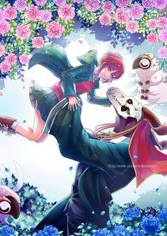 Elias and Chise (The Ancient Magus' Bride - 魔法使いの嫁) Fanarts Anime, Manga Anime, Anime Art, Fan Art, Chise Hatori, Elias Ainsworth, Best Romance Anime, Otaku, Tamako Love Story