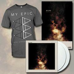 My Epic LP+T-Shirt Bundle : Facedown Records