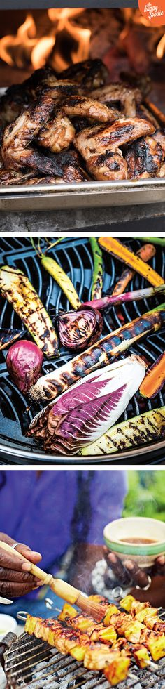 Stop press! The sun is officially out. That means it's time to dust off the barbecue, grab the tongs and get ready to rub, marinade and griddle our way to foodie happiness this weekend. We've rounded up three delicious barbecue recipes for you to try. Enjoy!