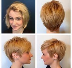love this new short style rachel gave our stylist autumn!