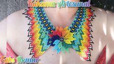 Jewelry Making Tutorials, Beading Tutorials, Elsa, Crochet Necklace, Projects To Try, Beads, Shakira, Diana, Youtube
