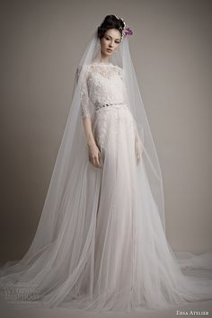 Ersa Atelier wedding dress 2015