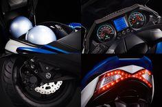 Kymco Agility Maxi : le GT compact et économique Compact, Board