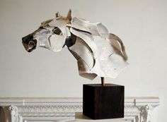 Paper sculpture by Anna Wili Highfield