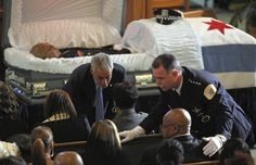 A police officer funeral service