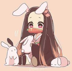 Cute Anime Chibi, Kawaii Chibi, Kawaii Anime Girl, Anime Art Girl, Anime Angel, Anime Demon, Fanarts Anime, Anime Characters, Dragon Slayer
