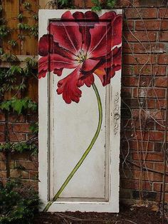 I want old doors to play with now! Dishfunctional Designs: New Takes On Old Doors: Salvaged Doors Repurposed
