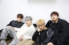 Changbin, Chan, Woojin and Minho Stray Kids
