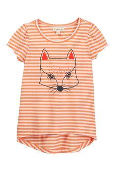Stripe Graphic Tee (Toddler & Little Girls)